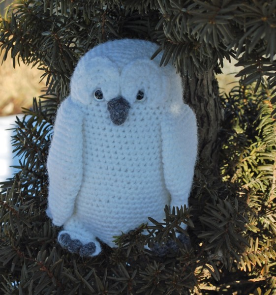 Free Crochet Pattern Small Owl : Great Snowy Owl Crochet Pattern - Inner Child Crochet